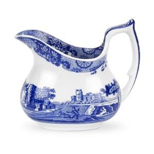 Bílomodrá porcelánová mléčenka Spode Blue Italian, 2,2 l