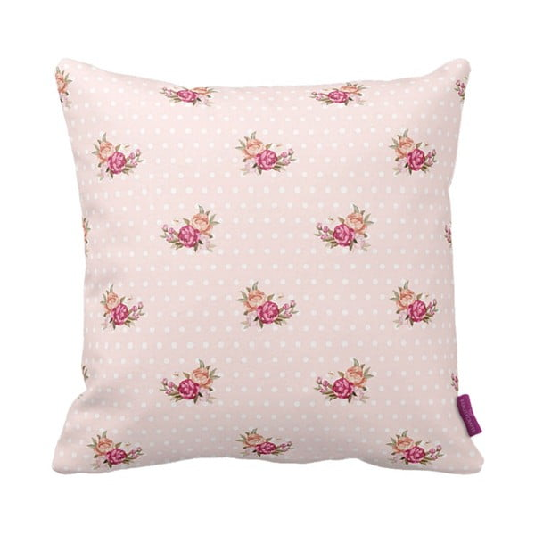 Polštář Rose Pink, 43x43 cm