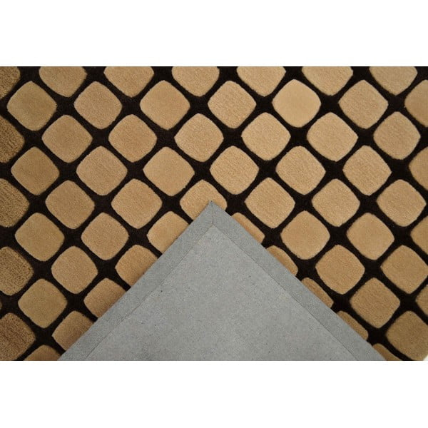 Koberec Casablanca Square 70x140 cm, mocca