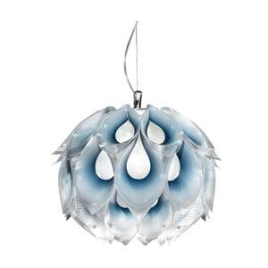 Stropní světlo Flora Blue, 31 cm