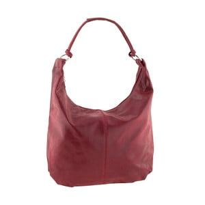 Červená kožená kabelka Ore Diece Zinnia