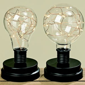 Sada 2 stolních LED lamp Boltze Harry