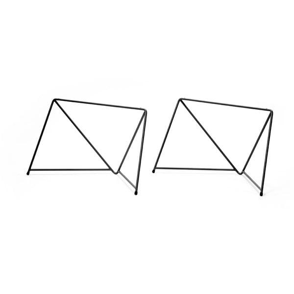 Sada 2 černých podnoží ke konferenčnímu stolku Master & Master Diamond