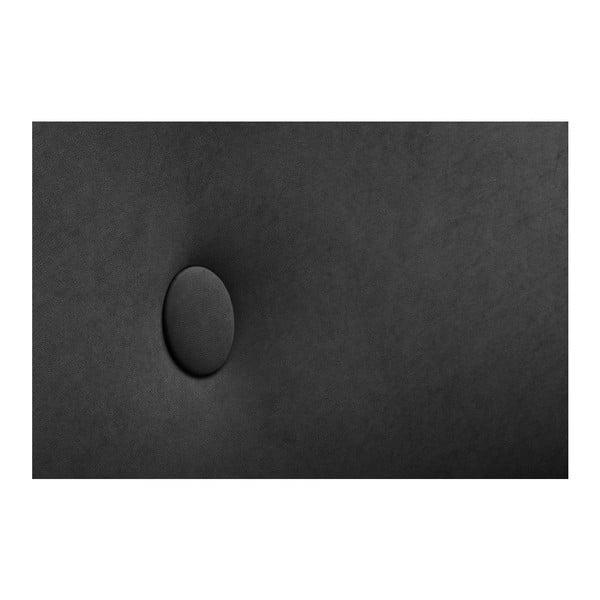 Černá rohová trojmístná pohovka Scandi by Stella Cadente Maison, pravý roh