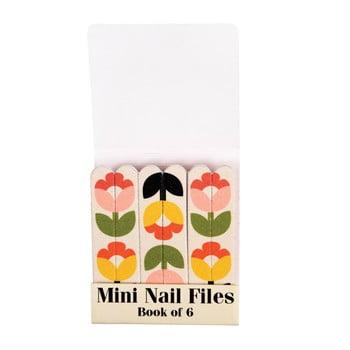 Set 6 pile mici pentru unghii Rex London Tulip Bloom imagine