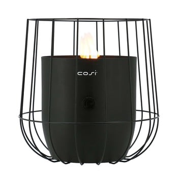 Lampă pe gaz Cosi Basket, înălțime 31 cm, negru