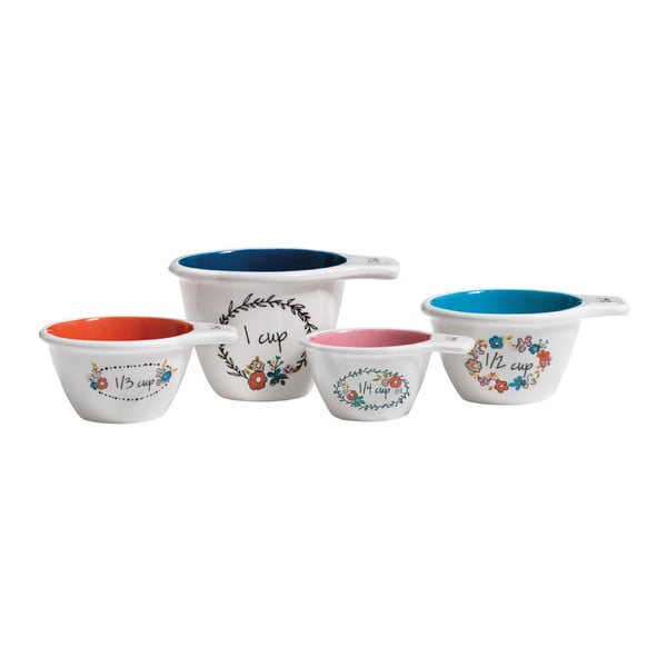 Set 4 ustensile de măsurat Premier Housewares Pretty Things