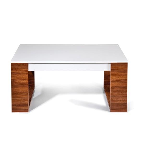 Konferenční stůl Mega, bílý/milas