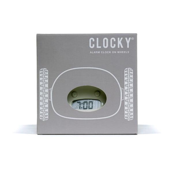 Clocky, budík na kolečkách, almond