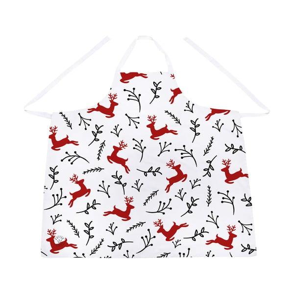 Șorț din bumbac cu motive de Crăciun Butter Kings Deer