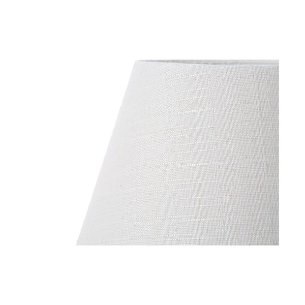 Bílá stolní lampa Bolzonella