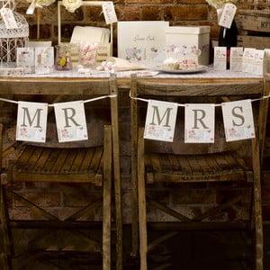 Ozdoba na židle pro novomanžele Neviti With Love