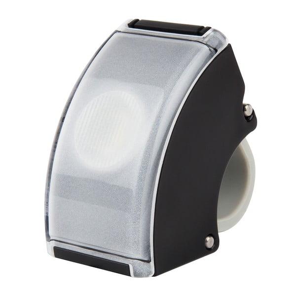Černé USB přední světlo Bookman