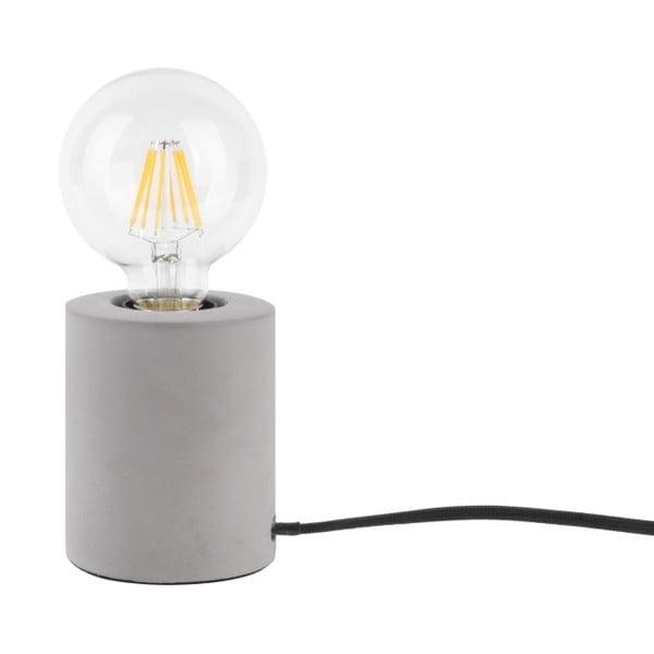 Stolní lampa se světle šedým mramorovým podstavcem Leitmotiv Bar