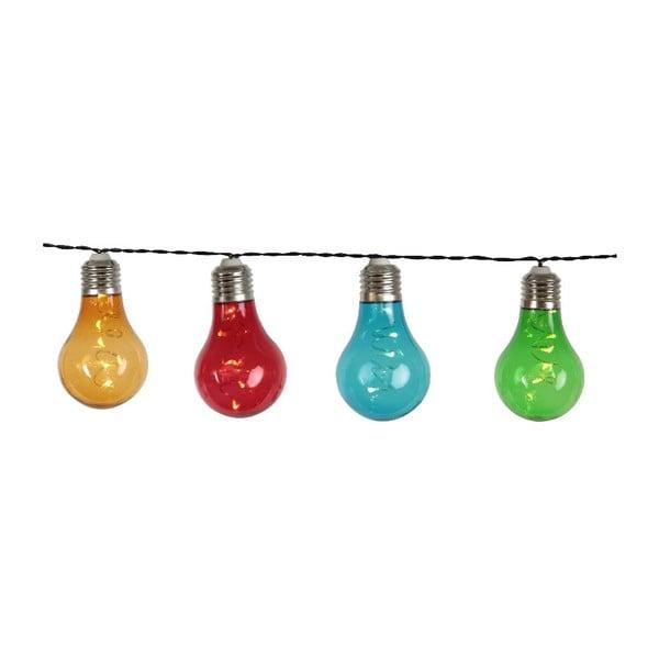 Světelný LED řetěz vhodný do exteriéru Best Season Dura, 10 světýlek