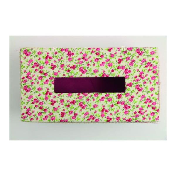 Krabička na kapesníky Flora Rossa