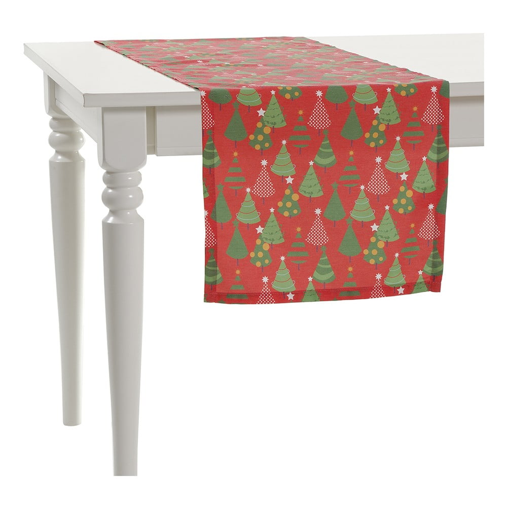 Vánoční běhoun na stůl Apolena Shine, 40 x 140 cm