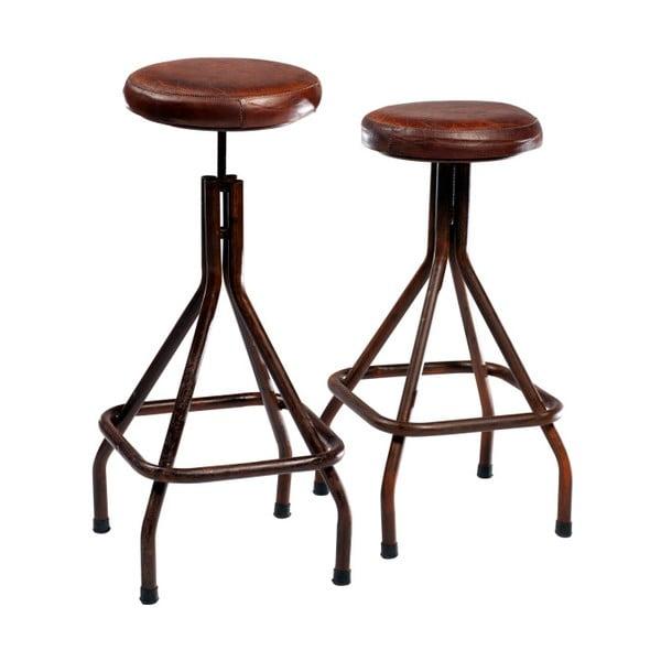 Barová židle s koženým sedákem DAN-FORM Denmark Weet