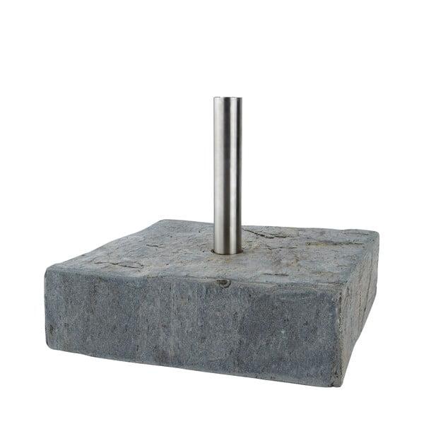 Břidlicový stojan na louč 30 cm, čtvercový