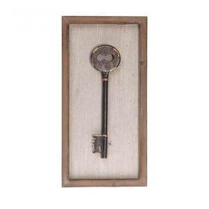 Nástěnná dekorace Key I, 20x40 cm
