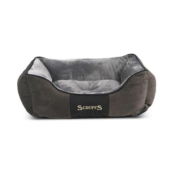 Psí pelíšek Chester Bed S 50x40 cm, šedý