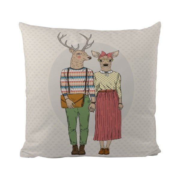 Polštářek Butter Kings Deer Couple
