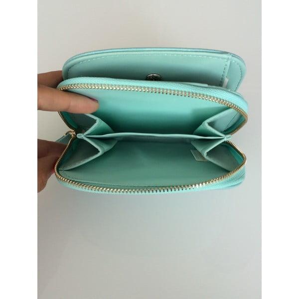 Malá peněženka Wild Flowers, modrá
