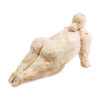 Decorațiune din lemn Kare Design Plank Girl, lungime 39 cm de la Kare Design