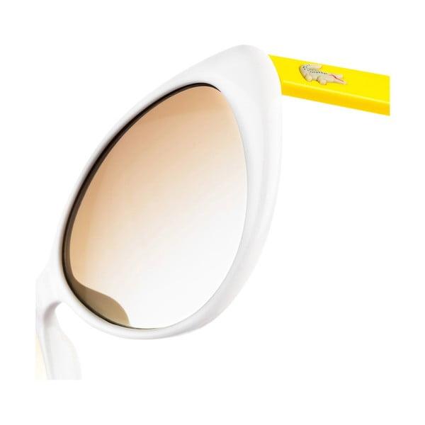 Dětské sluneční brýle Lacoste L602 White/Yellow