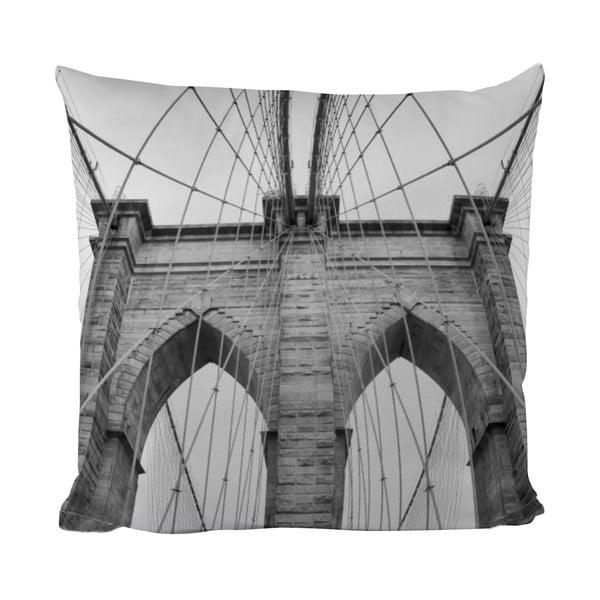 Polštářek Black Shake Under The Bridge, 50x50 cm