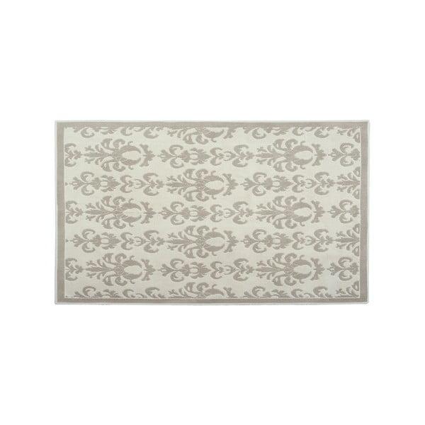 Bavlněný koberec Baroco 60x90 cm, krémový