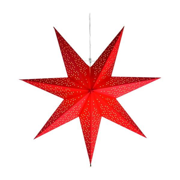 Czerwona dekoracja świetlna Best Season Dot, ⌀ 54 cm