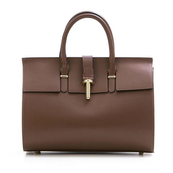 Kožená kabelka Markese 5156 Brown