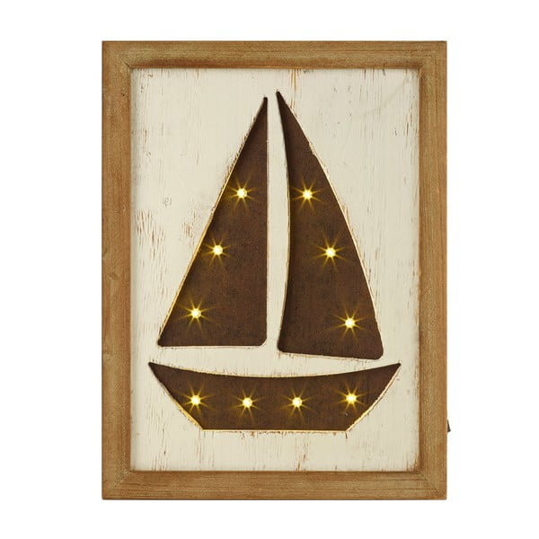 Svítící LED obraz Artesania Esteban Ferrer Sailing Boat