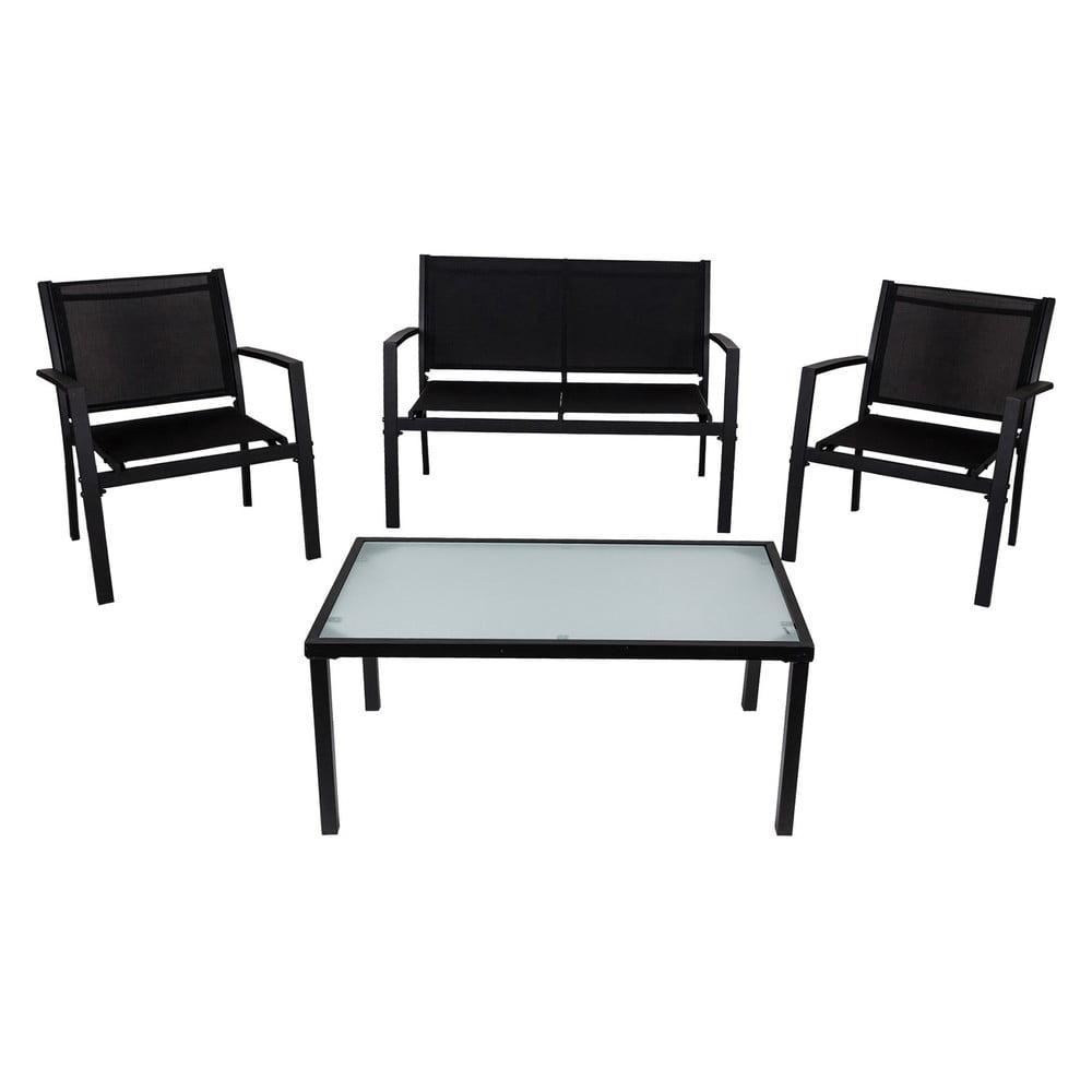 Sada kovového zahradního nábytku se stolkem Crido Consulting Lounge