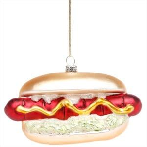 Vánoční závěsná ozdoba Butlers Hang On Hot Dog