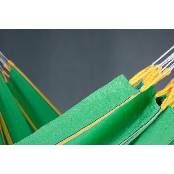 Houpací síť Currambera pro jednoho, zelená