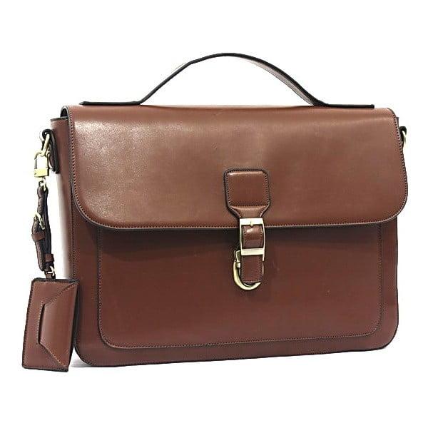 Elegantní taška přes rameno Bobby Black - Brown