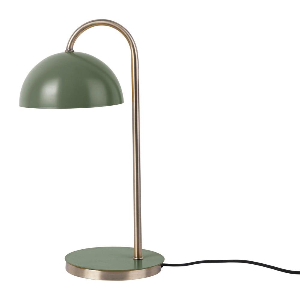 Stolní lampa v matné zelené barvě Leitmotiv Decova