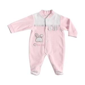 Dětské růžové pyžamo Naf Naf Rabbit