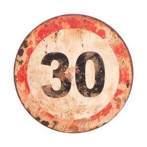 Nástěnná cedule Antic Line Sign 30