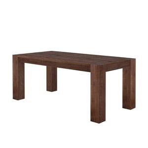 Tmavý jídelní stůl z mangového dřeva Støraa Mabel, 100x220cm