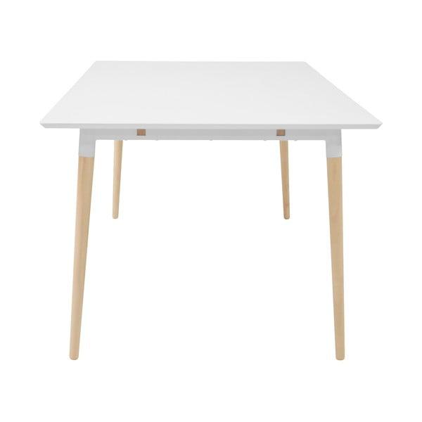 Jídelní stůl s podnožím z dubového dřeva Actona Olivia,200 x100cm