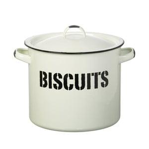 Bílá smaltovaná dóza na sušenky Parlane Biscuit Bin