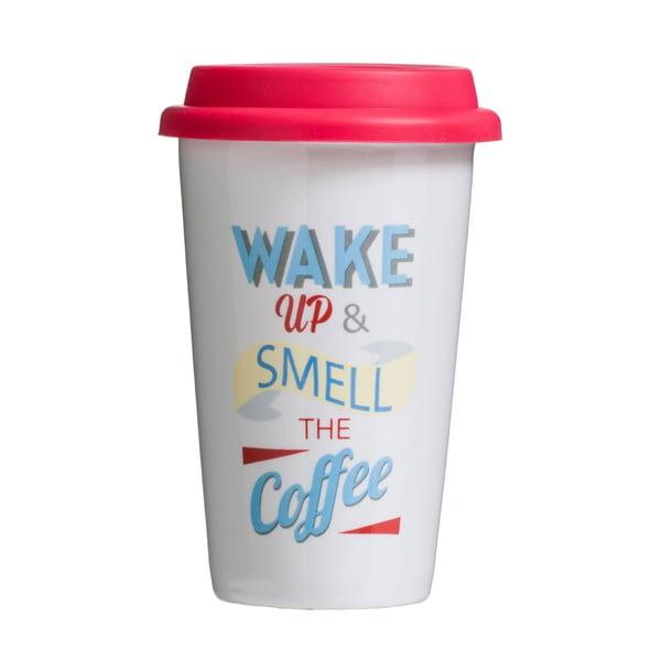 Cestovní hrnek Premier Housewares Wake Up 330ml