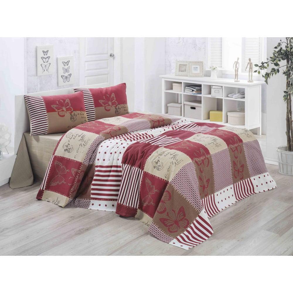 0ab5c512ab18 Lehký přehoz přes postel Butterly