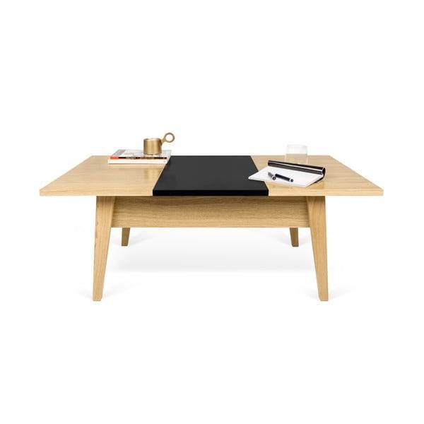 Konferenční stolek v dekoru ořechového dřeva TemaHome Lime