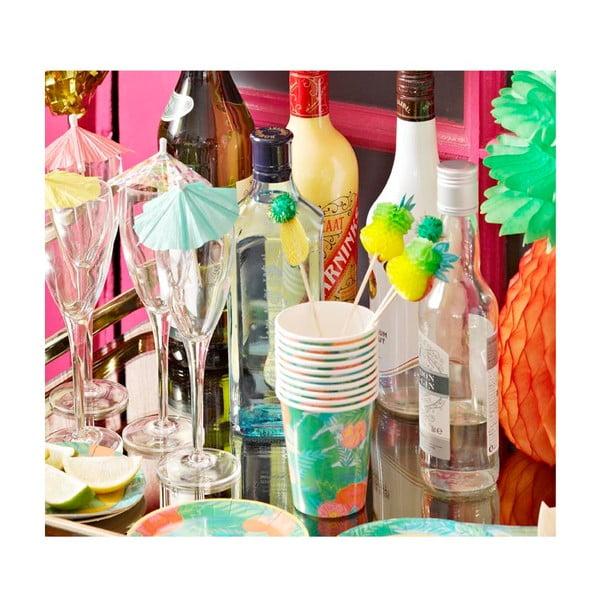 Sada 12 papírových kelímků Talking Tables Fiesta