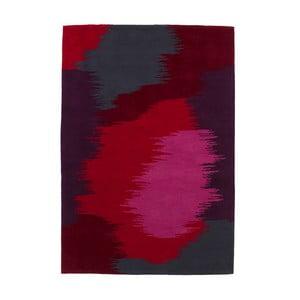 Koberec HK Grey/Red, 80x150 cm