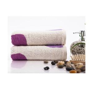 Sada 2 ručníků Alba Lilac, 50x90 cm
